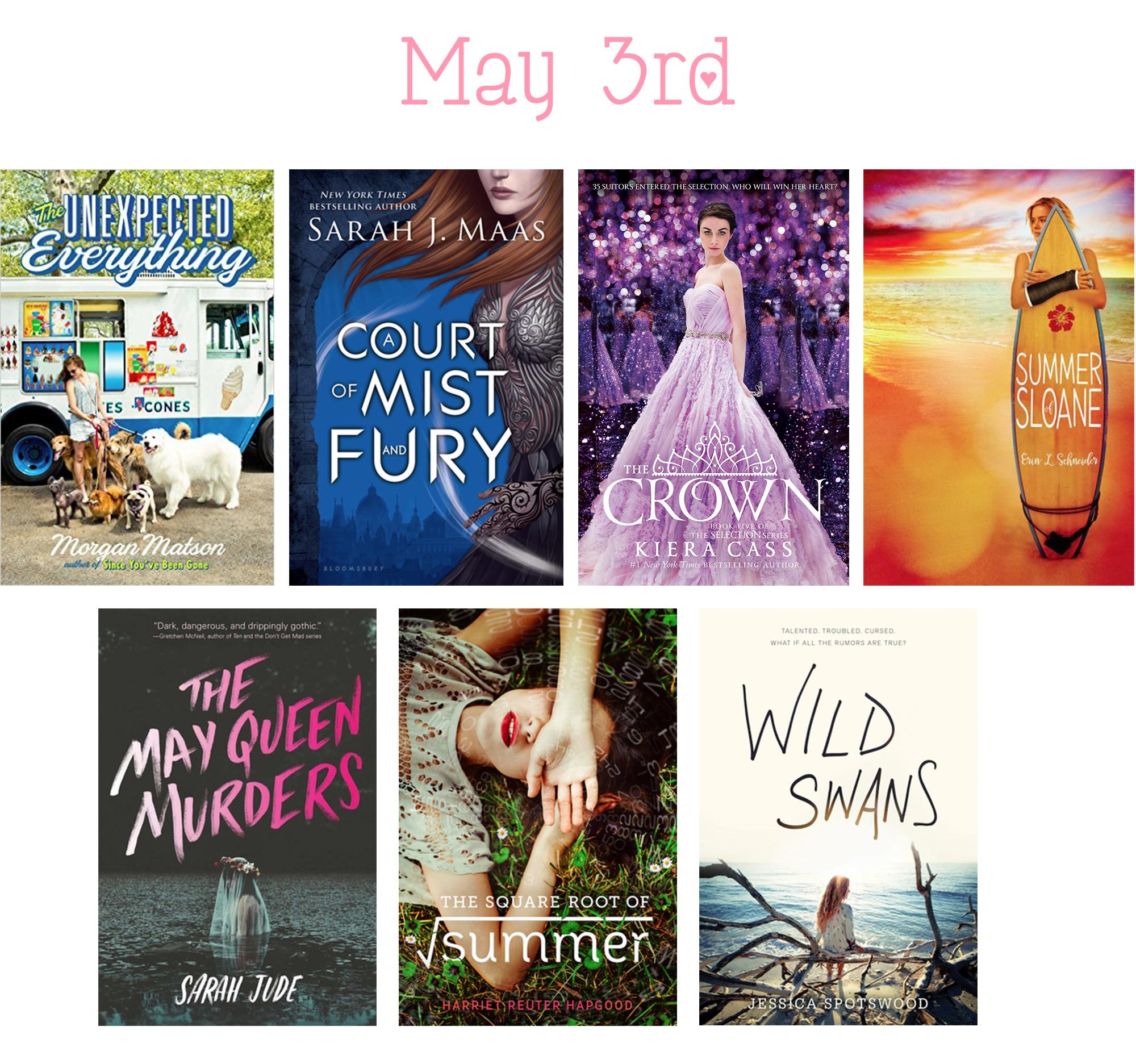 1 - May 3